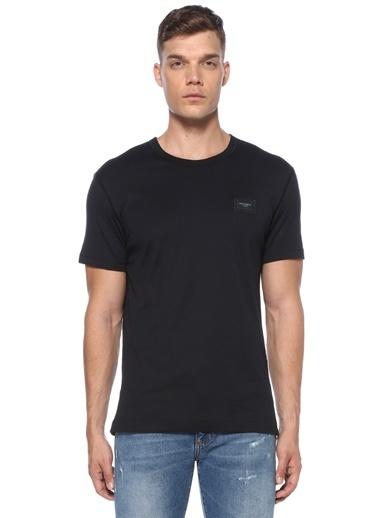Dolce&Gabbana Dolce&Gabbana  Logo Patchli T-shirt 101556965 Lacivert